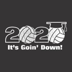 Senior Volleyball Shirts Class of 2020 Design