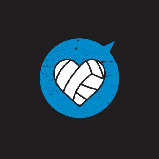 Heart Sports Volley T Shirt Designs 3