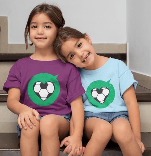 Heart Love Sports Soccer T Shirt Designs | Valentine T Shirts