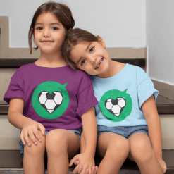 Heart Love Sports Soccer T Shirt Designs | Valentine T Shirts