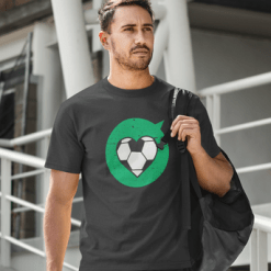 Heart Love Sports Soccer T Shirt Designs | Valentine Gift Ideas