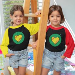 Valentine Gift Ideas Heart Sports Love Softball T Shirt Designs Print | Valentine T Shirts