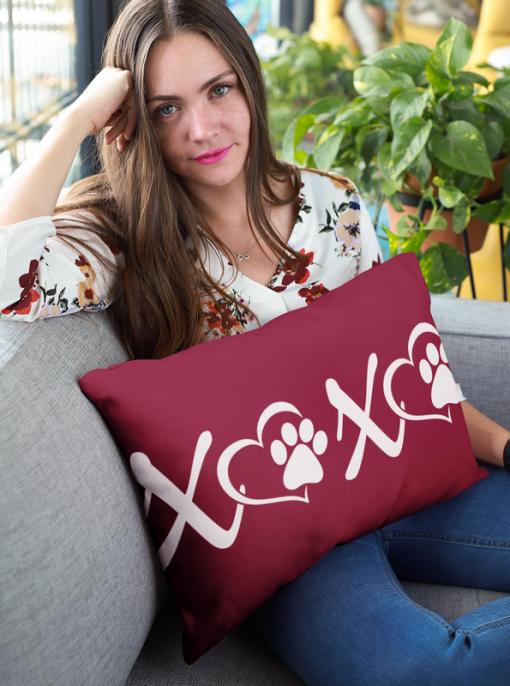 Love Dog T Shirts - XOXO Paws Valentine Dog Shirts Design 2