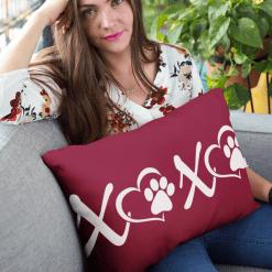 Love Dog T Shirts - XOXO Paws Valentine Dog Shirts Design 3