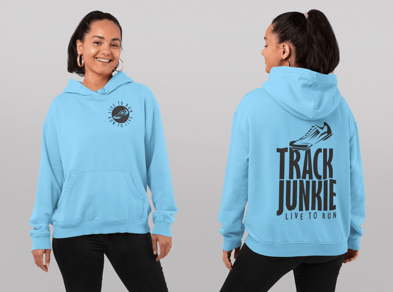 Track t shirt designs Track Junkie Live To Run Ready Made T Shirt Design catchy track and field slogans for t shirts
