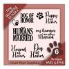 My Humans Are Getting Married SVG Wedding Design Bundle - Wedding Dog Bandana