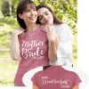 Mother of the Bride T Shirt Custom Design Template - Actually...I Loved Her First T Shirt Design