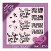 Best Wedding T Shirts For Step-Family - Engagement SVG Design Bundle