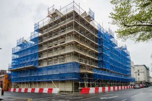 Scaffold Design, Villiers House, Leamington Spa