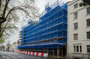 Scaffolding Design, Villiers House, Leamington Spa