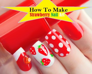 Make newspaper print nail art designs perfectly 9 easy steps how to make strawberry nails art tutorial with pictures video prinsesfo Images