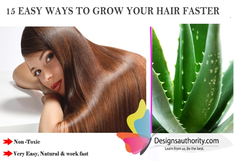 how to grow hair faster 15 easy non toxic ways that work better than the rest for long beautiful hair