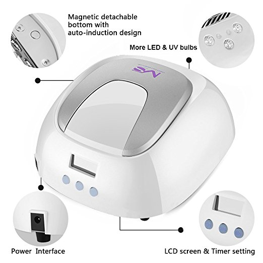 Best 5 Nail Lamps As Of May 2018 ✅ U2013 LED U0026 UV Nail Lamps Review Of The Best  Nail Curing Lamps You Can Rely On