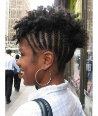The Most Beautiful Short Mohawk Hairstyles for Black Women ...