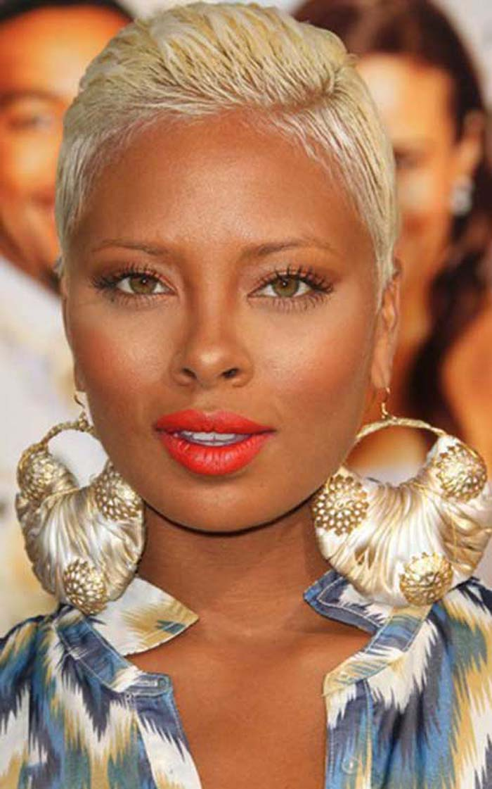Short Blonde Hairstyles For Black Women That Rock Designs By