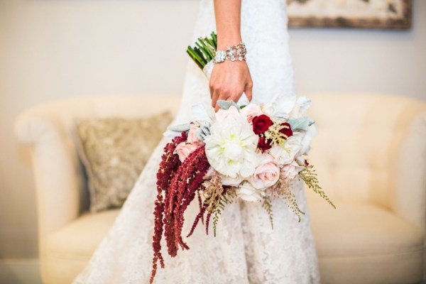 high end wedding bouquet florist