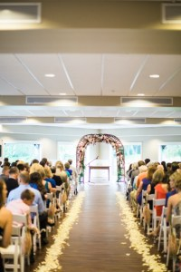 whimsical wedding arch