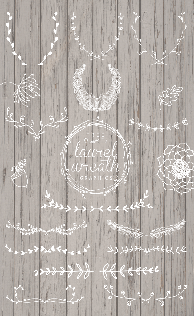Laurel Svg Free : laurel, Laurel, Wreath, Graphics, Designs, Mandee