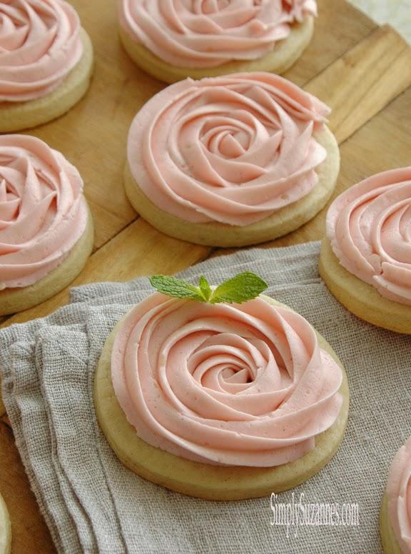 rose sugar cookies 10-2
