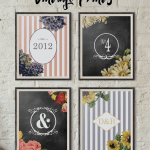 Customizable Vintage Prints