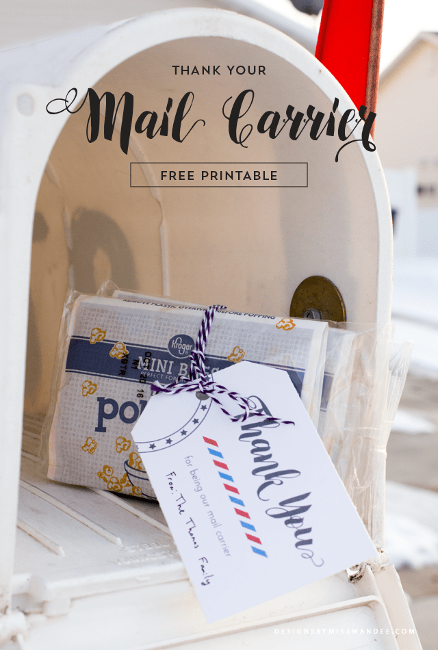 Thank Your Mail Carrier