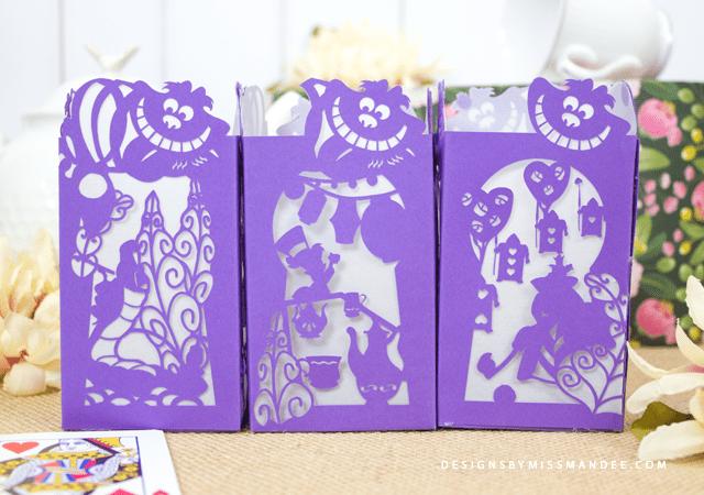 Alice in Wonderland Paper Lantern
