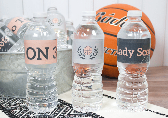 Customizable Water Bottle Labels