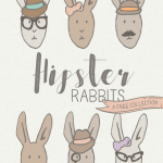 Hipster Rabbit Collection