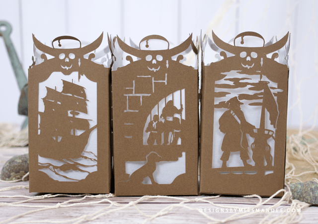 Pirates of the Caribbean Paper Lantern