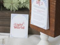 Light the World Advent Cards