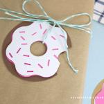 Die Cuts Doughnuts