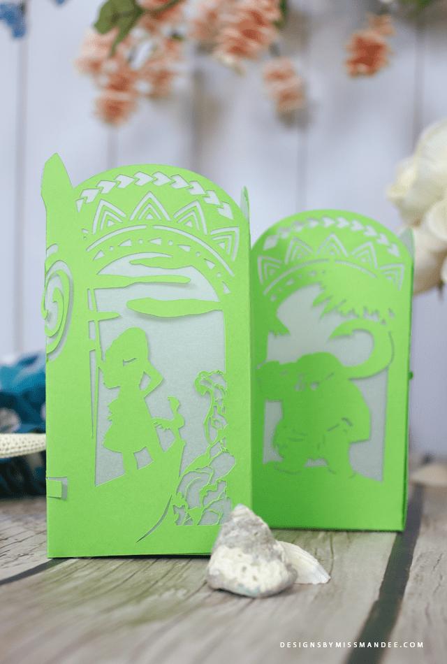 Moana Paper Lantern