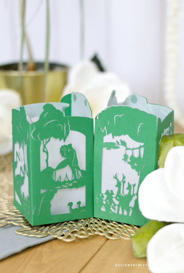 Princess and the Frog Paper Lantern