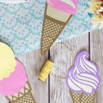 Die Cut Ice Cream