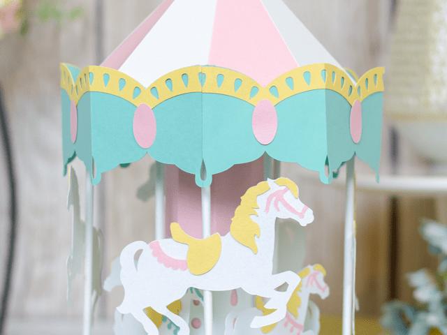 Die Cut 3D Carousel