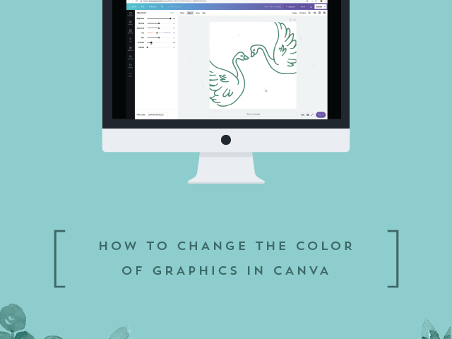 How to Change the Color of Graphics in Canva