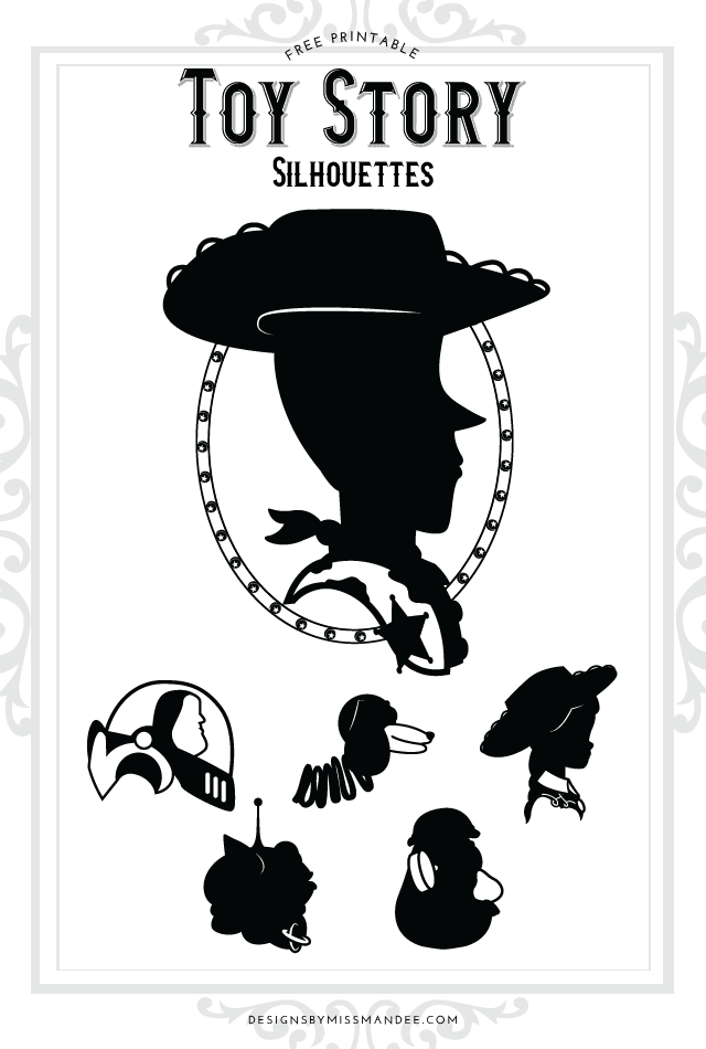 Toy Story Silhouettes