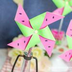Watermelon Pinwheels
