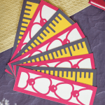 Die Cut Back to School Bookmarks