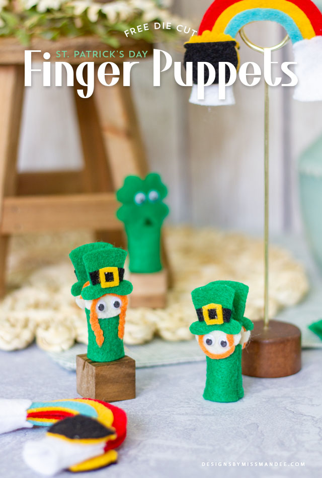 St. Patrick's Day Finger Puppets