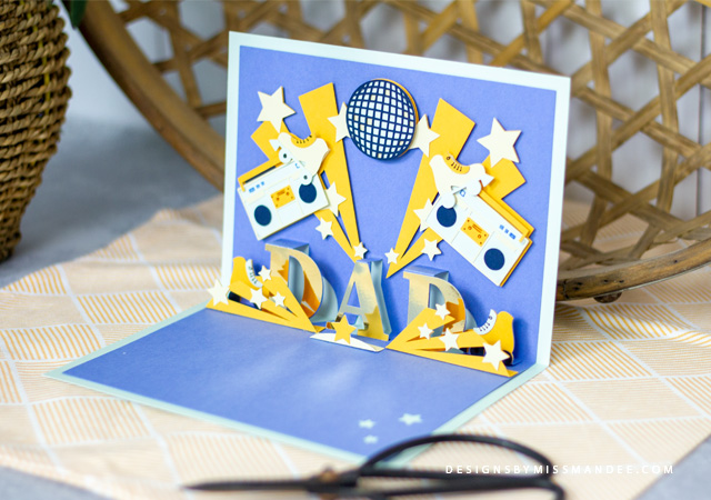 Father's Day Pop-Up Card
