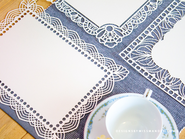 Lacy Placemats