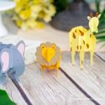 Safari Puzzle Animals