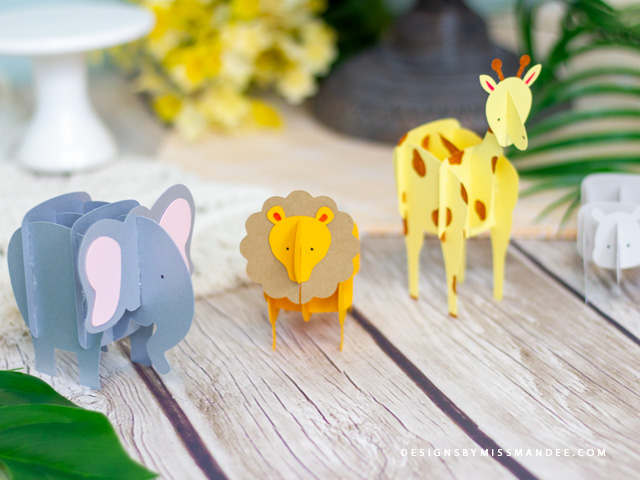 Safari Puzzle Animals