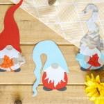 Die Cut Gnomes