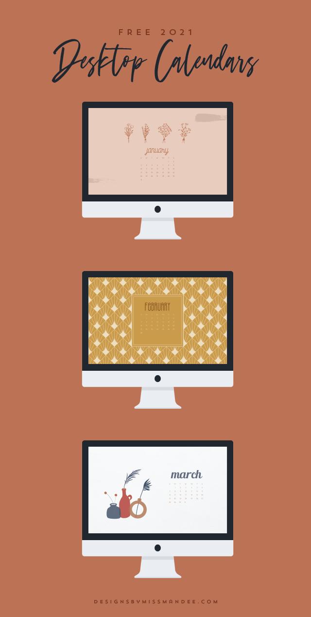 2021 Desktop Calendars