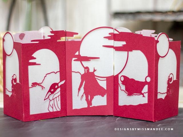 Mandalorian Paper Lantern