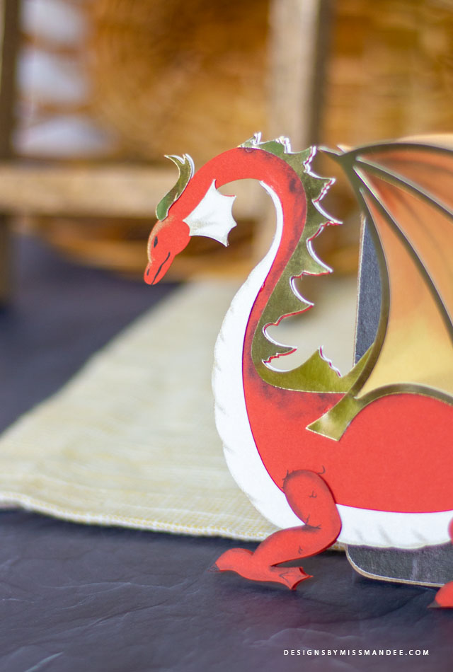 Die Cut Dragon
