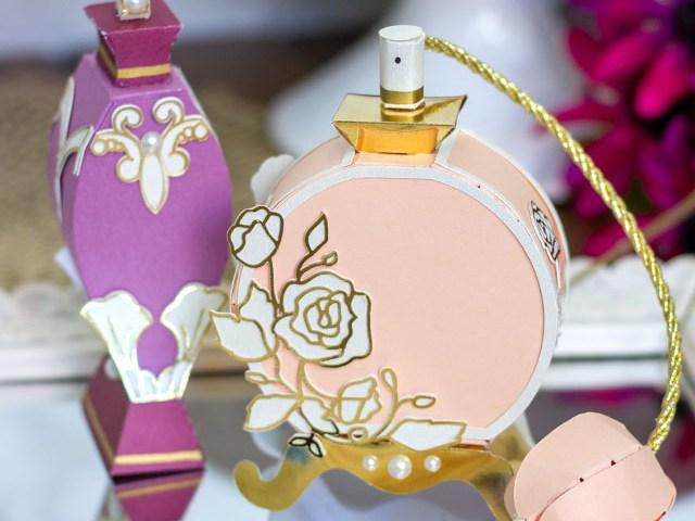 3D Perfume Bottles