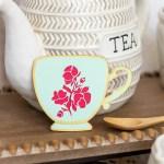 Die Cut Spring Teacups